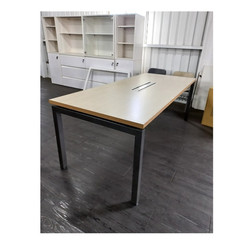 安寶工業風方管桌