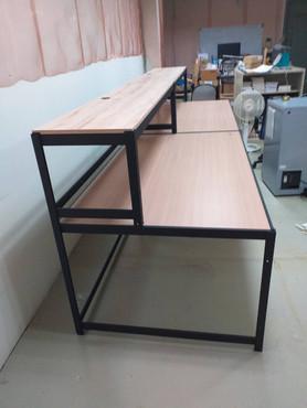 6663-3組合桌白橡木夾板.jpg