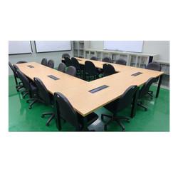 安寶工業風環狀會議桌