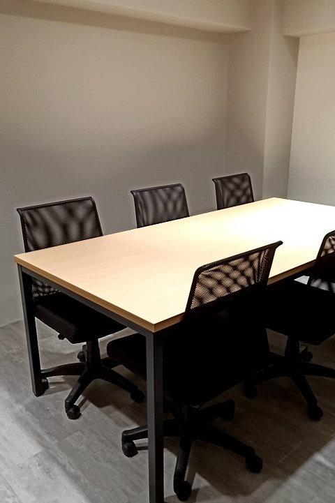 當代方管會議桌(尺寸訂做貼皮可選)