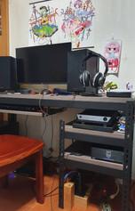 5130黑美芯25mm龐貝黑杉電腦桌下架鍵盤抽.jpg