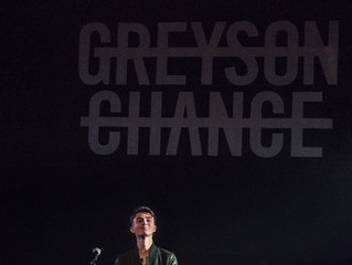 Greyson Chance | Lincoln Hall | Chicago | 1.30.16