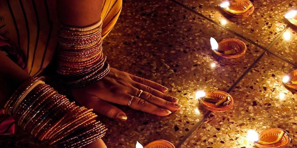Işık Festivali'nde Hindistan'da