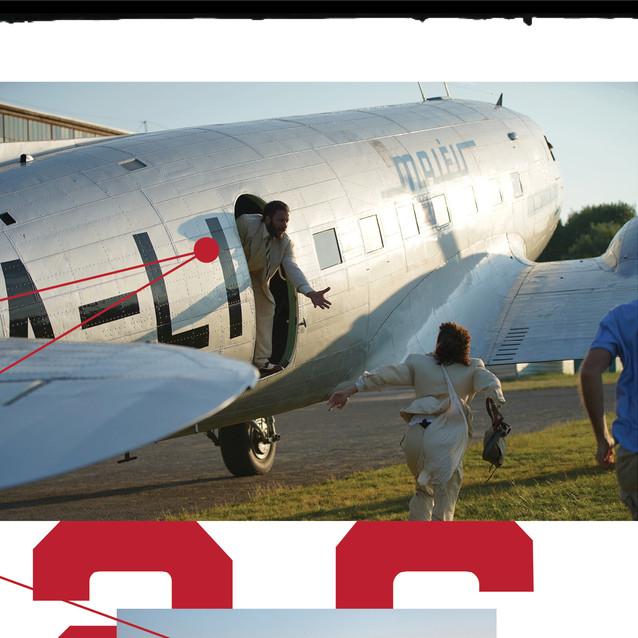 Pt. 33/64: Planes make great getaway cars.