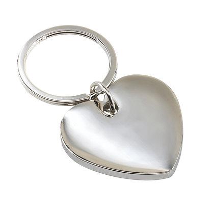 Porte-clés design cœur