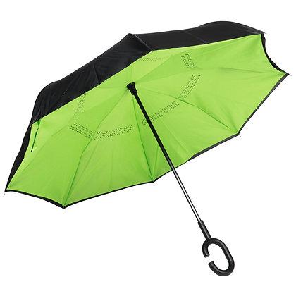 Parapluie canne automatique