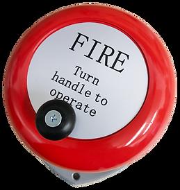 Fireshield Rotary Hand Bell