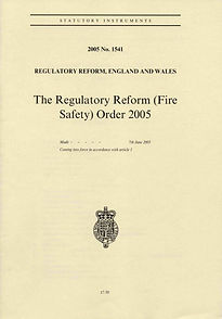 The Regulatoy Reform (Fire Safety) Order 2005 document