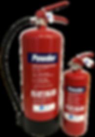 Fireshield powder fire extinguisher
