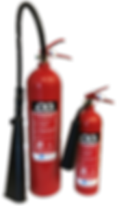 Fireshield CO2 fire extinguisher