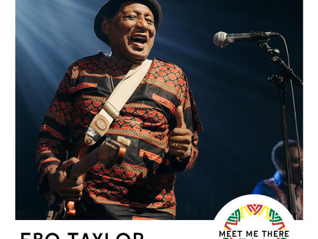EBO TAYLOR TO PERFORM!