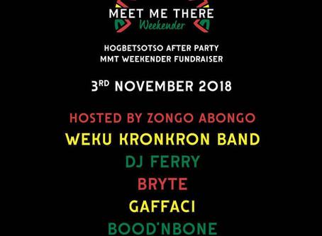 Weku Kronkron band to perform at 3rd november fundraiser!