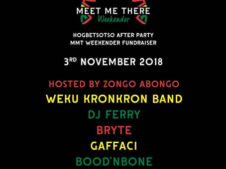 Weku Kronkron band to perform at 3rd november fundraiser!