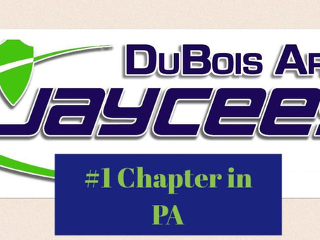 DuBois Jaycees Recognized as #1 Chapter in PA