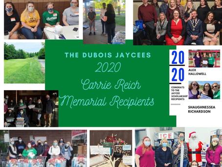 The DuBois Jaycees & President Sheri Price receive PA Jaycees awards