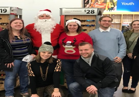 DuBois Chapter wraps up 2017 in seasonal way