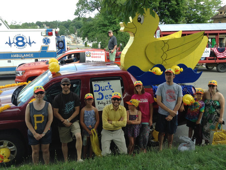 Duck Dynasty: Jaycees Participate in DuBois Parade