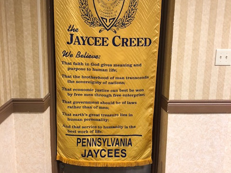 What it means to be a Jaycee - a poem