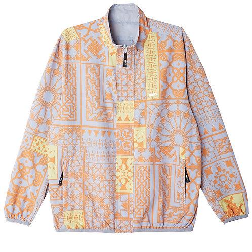 patchwork reversible jacket