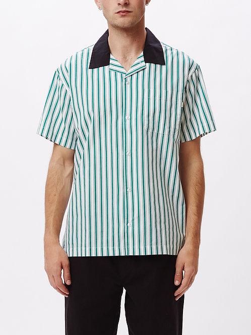 Ideals organic striped woven