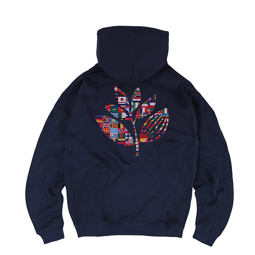 Plant flag hoodie