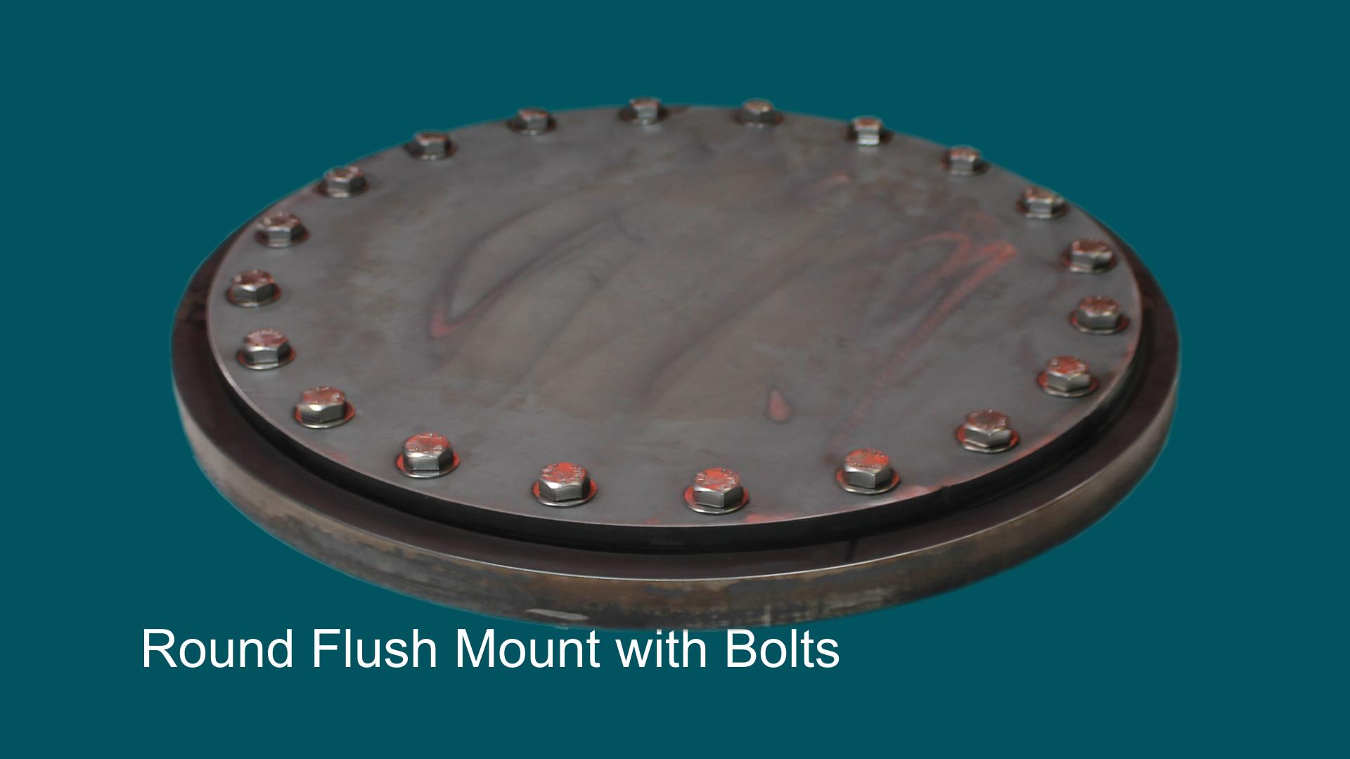 Round flush