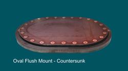 Oval Flush