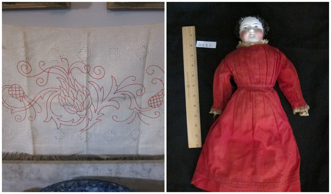What Do a Splash Cloth and a China Doll have in Common?