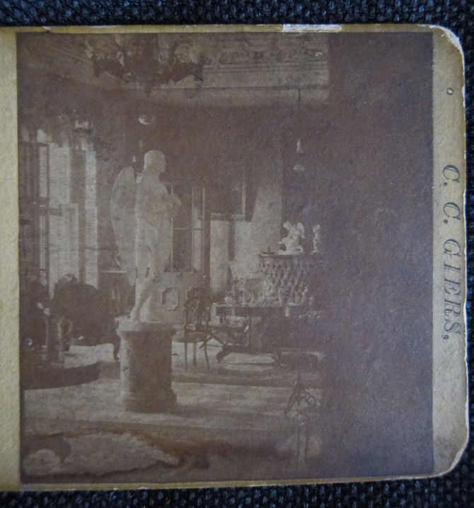 C. C. Giers Stereo Card-Grand Salon