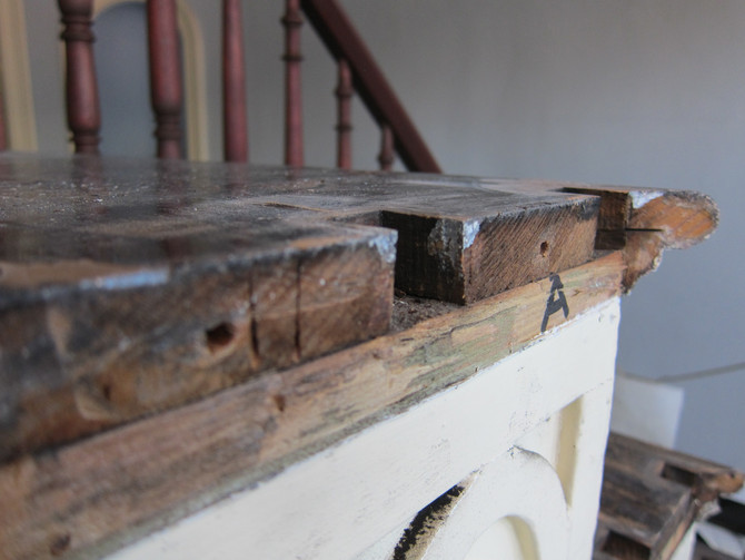 Step By Step- Adelicia's Cupola Stair Restoration Begins