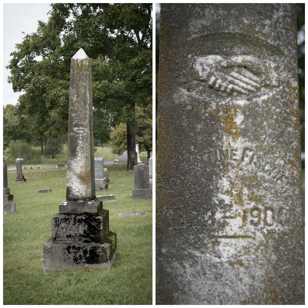 Valentine Fischer's Tombstone
