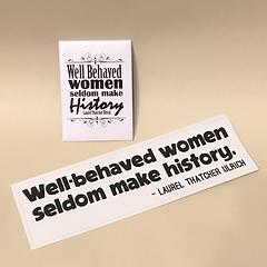 Well Behaved Women Sticker Magnet Set.pn