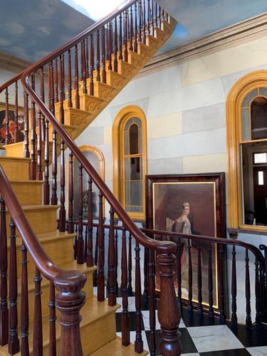 Second Floor Gallery & portrait of Queen Victoria