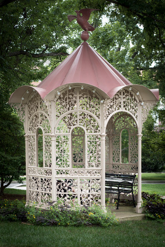 The Morning Glory Gazebo, image by Ed Houck