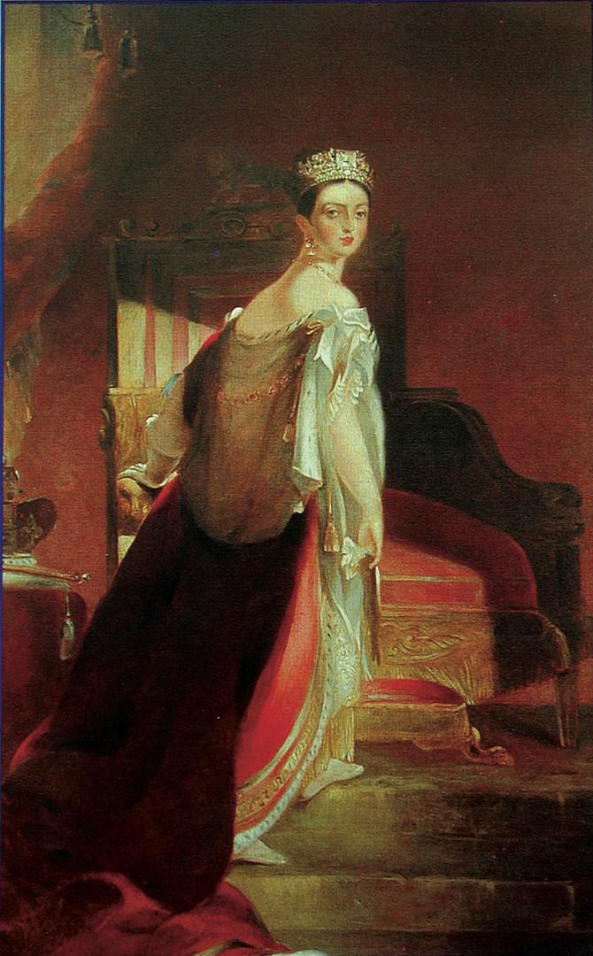 The Procession of Queen Victoria