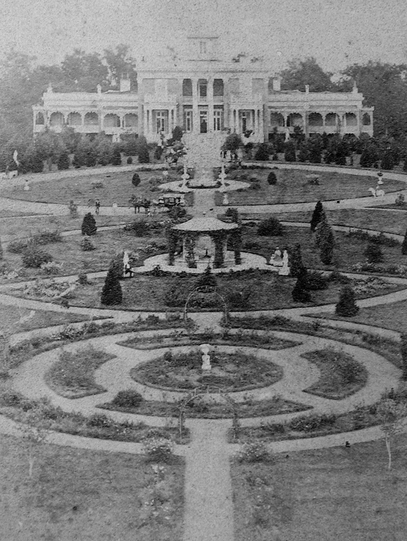 Belmont Mansion ca.1861-1865