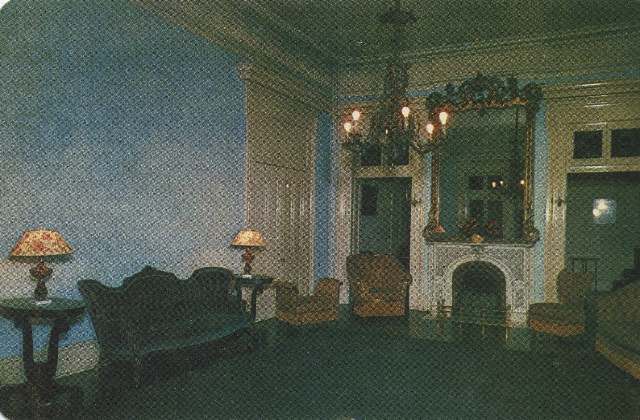 Central Parlor, ca. 1950