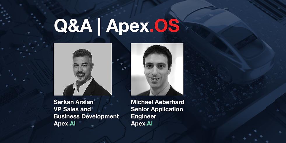 Q&A Apex.OS - The vehicle OS.