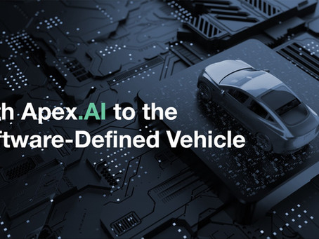 With Apex.AI to the Software-Defined Vehicle