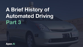 A Brief History of Automated Driving — Part Three: Toward Product Development
