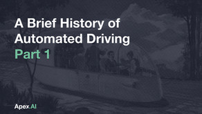 A Brief History of Automated Driving — Part One: The Driverless Car Era Began 100 Years Ago