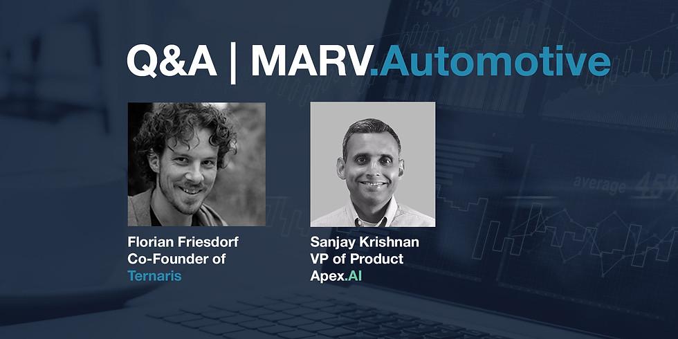 Q&A MARV.Automotive - A powerful, configurable, and extensible data management platform.