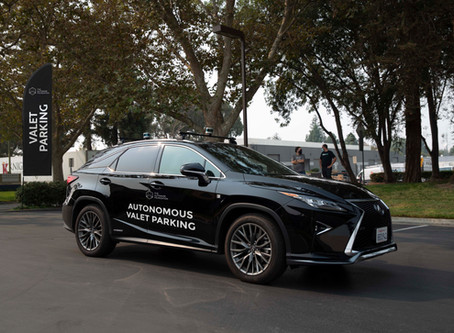 Autoware does Autonomous Valet Parking!