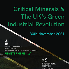 Critical Minerals & The UK's Green Industrial Revolution