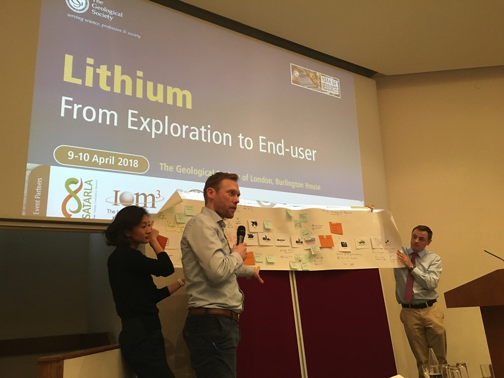 Risk management techniques being used to explore the full value chain for Lithium:  From exploration to end user.