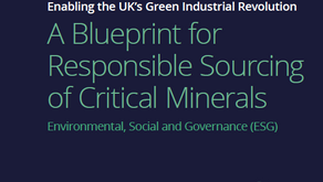 Enabling UK's Green Energy Transition: A Blueprint for Responsible Sourcing of Critical Minerals