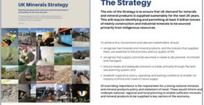 David Payne - UK Minerals Strategy