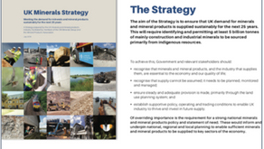 David Payne - UK Minerals Strategy