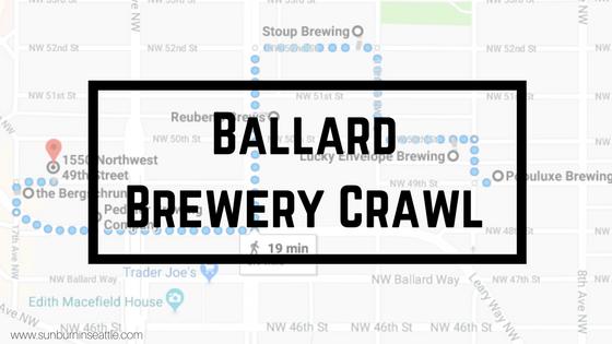Ballard Brewery Crawl | Sunburn in Seattle