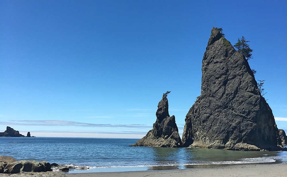 Rock Formation - Rialto Beach | Sunburn in Seattle